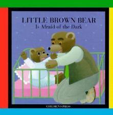 Little Brown Bear Is Afraid of the Dark (Little Brown Bear Books)-ExLibrary