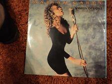 """Mariah Carey Vision of Love RARE 12"""" Single  -  EX / EX"""