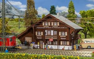 Faller HO 110129 Bahnhof Litzirüti ##NEU in OVP##