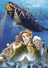 Atlantis: The Lost Empire - UK Region 2 DVD - Walt Disney