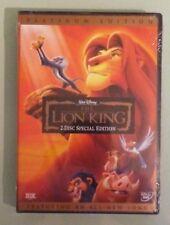 walt disney THE LION KING platinum edition DVD NEW factory sealed & stamped