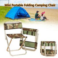 Lightweight Outdoor Portable Folding Chair Stool Fishing Camping Hiking Picnic