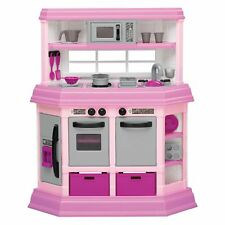American Plastic Toys Kids Custom Play Kitchen, Pink *BRAND NEW*
