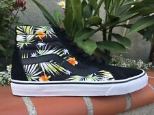 Vans SK8 Hi Reissue Digi Aloha Black Men's Skate Shoes Sz 11-11.5  'SALE SAMPLE'