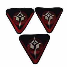 Firefly Serenity Alliance Security Embroidered Patch Set of 3