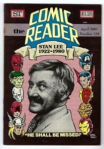 - -> The COMIC READER #179 ... April, 1980 ... Stan Lee cover