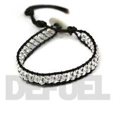 Crystal Beaded Bracelets for Men