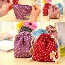 Jewelry Container Organizer Cosmetic Makeup Bag Coin Change Purse Money Wallet