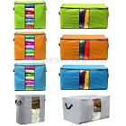 4 Colors Foldable Non-woven Clothes Quilt Clothes Storage Bag Organizer Box New
