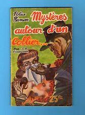 ►LES AVENTURES DE BILL DISLEY- MYSTERES AUTOUR D'UN COLLIER - FLANIGHAM - 1954