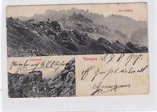 K 839 - Tsingtau, Lauschan mit Irenebaude und Lauting, 1908