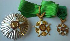 1960 Senegal Order of the Lion Grand Cross Breast Star Neck Chest Badge Medal VF