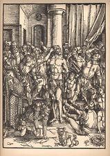 ALBRECHT DÜRER - PASSION OF THE JESUS CHRIST rare RELIGIOUS art PRINT 1938 durer