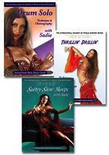Sadie Instructional Belly Dance 3 DVD Set