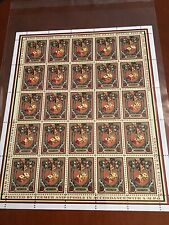 Discworld stamps Gamblers' Guild Six Pence Sheet Very Rare 2012