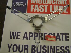 NOS OEM Ford 1965 1966 1967 Mustang Deluxe Steering Wheel Horn Ring + Fairlane