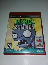Plants Vs. Zombies PS3 COMPLETE VERY LIGHT SCRATCHES GOOD CONDITION FAST SHIP