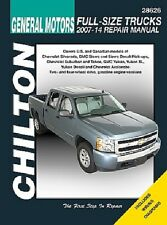 Repair Manual CHILTON 28626 Chevrolet Silverado Tahoe Suburban, GMC Sierra Yukon