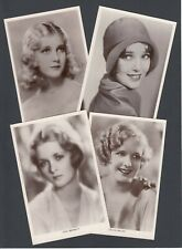 More details for ten c. 1930s real photo actress actor stage theatre postcards some blank backs