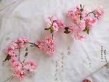 "L PINK CHERRY BLOSSOM 1.84M GARLAND 6"" BUNTING SAKURA ARTIFICIAL FLOWER JAPANESE"