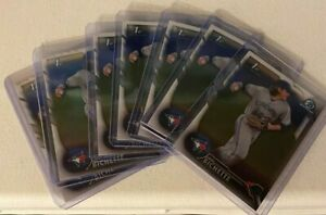7) 2016 Bowman Draft Chrome BDC-74 Bo Bichette Refractor + Regular Chrome Lot
