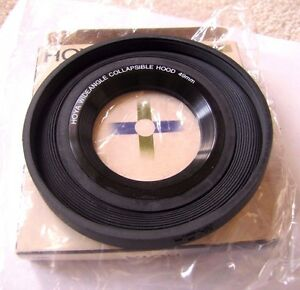 Hoya 49mm Wide Angle Folding Rubber Lens Hood Sun Shade 49 mm Japan