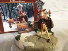 Norman Rockwell Saturday Evening Post God Bless Us Everyone Village Figurine