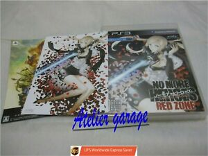 W/Tracking. PS3 No More Heroes Red Zone Edition w/Leaflet Set Japanese Version