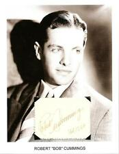 Robert Cummings Autograph Dial M for Murder The Devil and Miss Jones Saboteur #1