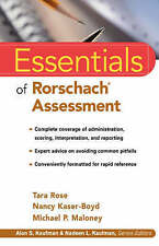 Essentials of Rorschach  Assessment (Essentials of Psychological-ExLibrary