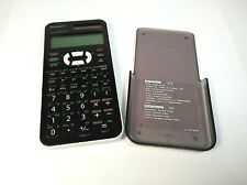Sharp EL-520X Scientific Calculator Dual Power Hard Case Tested Surface Wear