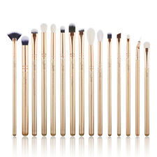 UK Jessup Make Up Brushes Eyes 15Pcs Set Eyeshaow Eyeliner Lip Brow Concealer