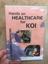 Hands On Healthcare for Koi-Bernice Brewster(UK DVD)Water Testing/Salt Bath Carp