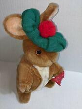 Vintage Eden Beatrix Potter Plush Benjamin Bunny Green Hat Handkerchief 12 Inch