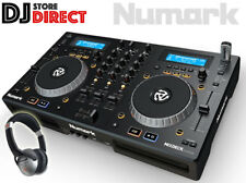 NUMARK MIXDECK EXPRESS Dual CD/MP3/USB Deck Serato DJ Controller FREE Headphones