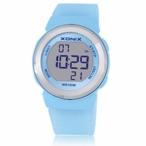 Fashion Women Sports Watches Waterproof Ladies Jelly LED Digital Swimming Diving
