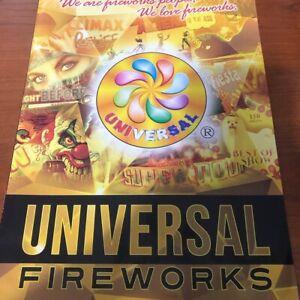 Universal Fireworks Catalog