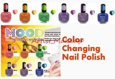FULL SET of 6 MIA SECRET MOOD COLOR CHANGING NAIL POLISH LACQUER - MADE IN USA