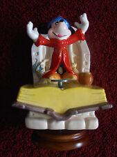 Vintage Schmid Music Box Mickey Mouse Fantasia Sorcerer's Apprentice Fascination