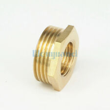 "1"" BSP Male to 1/2"" BSP Female Brass Reducer Reducing Bush Fitting"