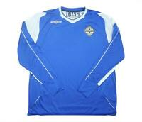 Northern Ireland 2006-08 Authentic Away (Excellent) XL Soccer Jersey