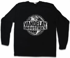 VANDELAY INDUSTRIES LONG SLEEVE T-SHIRT Sign Insignia Logo Company Seinfeld