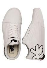 Disney Mickey Hands Vans Old Skool White 8 Women Sneakers Tennis Skate Shoes