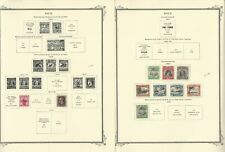 Niue Stamp Collection 1902-1969 on 8 Scott Specialty Pages, JFZ