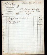 """PARIS XVIII° USINE de ST-CYR-la-RIVIERE / OUTILS pour CHAUSSURES """"DAILLOUX"""" 1899"""