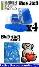 Plastique Blue Stuff - 4 barres - Materiel de Clonage - Moules Réutilisable.
