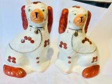 More details for arthur wood fireside staffordshire mantle piece wally dogs king charles spaniel