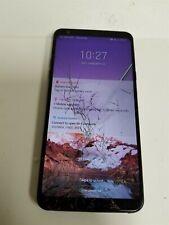 LG Stylo 4 32GB Black LM-Q710 (T-Mobile) Damaged See Details VD4572