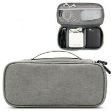 Electronic Organizer Travel Storage Bag USB Cable Accessories Gadget Pouch Case