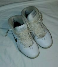 WOMENS NIKE SNEAKERS AIR VIV PRO 3 HIGH TOP WHITE & BLACK SIZE 7 ~ OLD SCHOOL